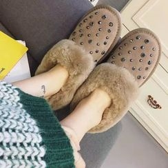 Crystella - Studded Snow Boots