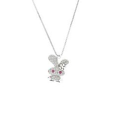 Glamagem - 12 Zodiac Collection - Auspicious Rabbit With Necklace