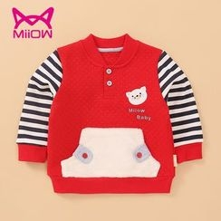 MiiOW - Kids Striped Pullover