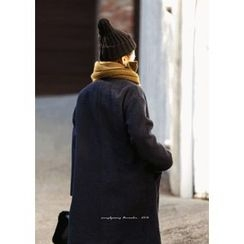 ssongbyssong - Double-Breasted Wool Blend Coat