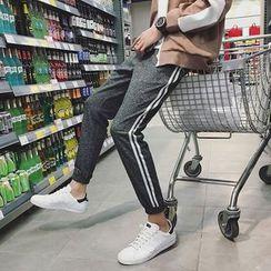 子俊 - 条纹慢跑裤