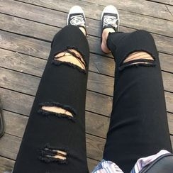 MATO - Ripped Skinny Jeans