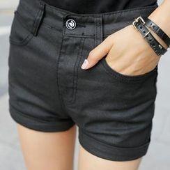 REDOPIN - High-Waist Shorts