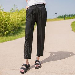 Envy Look - Band-Waist Tapered Pants