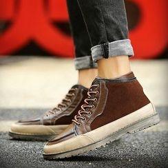 MARTUCCI - 系带高帮休閒鞋