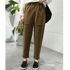 Oaksa - Knit Tapered Pants