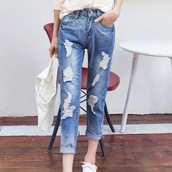 Ranee - Washed Jeans