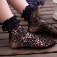 NECTARY - Lace Socks