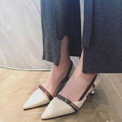 QQ Trend - 尖头高跟鞋
