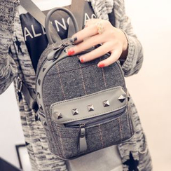 Nautilus Bags - Studded Panel Backpack