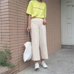 bombee - Wide Leg Pants