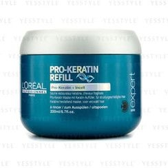 L'Oreal - Professionnel Expert Serie - Pro-Keratin Refill Correcting Care Masque (For Damaged Hair)