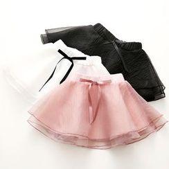 贝壳童装 - 小童薄纱裙