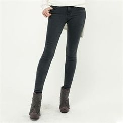 GLAM12 - Washed Skinny Jeans