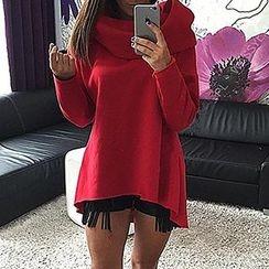 丽贝卡 - 立领套衫