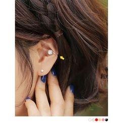 PINKROCKET - Colored Cubic Ear Cuff