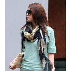 SO Central - 條紋圍巾