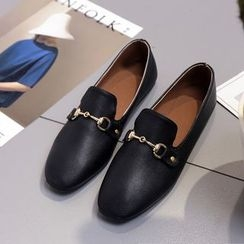 Chryse - Faux Leather Loafers