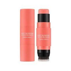 Missha - M Soft Blending Stick Blusher (#03 Skin Coral)