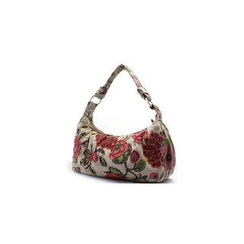 Glam Cham - Floral Applique Handbag