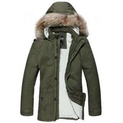 VALS - Furry-Trim Hooded Parka