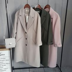 Coolvibe - Buttoned Coat