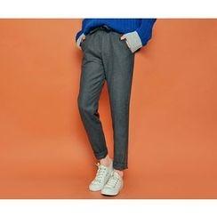 HOTPING - Drawstring-Waist Pants
