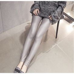 Dream Girl - Faux Leather Leggings
