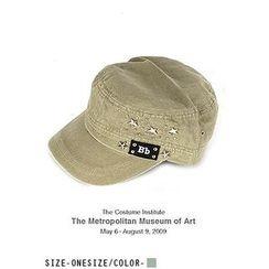 UUZONE - 飾釘軍帽