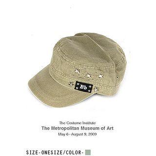 UUZONE - Studded Military Cap