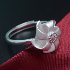 Silver City - Flower Ring