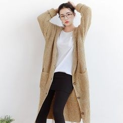 Forest Girl - Long Cardigan
