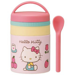 Skater - Hello Kitty Stainless Pot for Baby