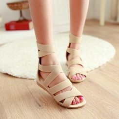 YOUIN - Strappy Wedge Sandals