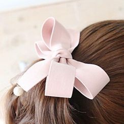 Miss Floral - Bow Hair Barrette
