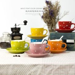 Jarsun - Dotted Coffee Cup Set