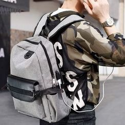 Bagolo - USB Interface Canvas Panel Backpack