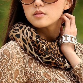 59 Seconds - Leopard Print Scarf