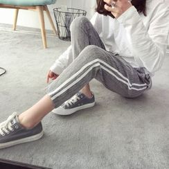 Qimi - Striped Sweatpants
