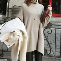 PIPPIN - Turtle-Neck Long Top