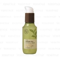 The Face Shop - Baby Leaf Green Tea Waterfull Serum