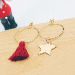 Bmuse - Non-Matching Earrings
