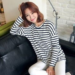 CLICK - Cotton Stripe T-Shirt
