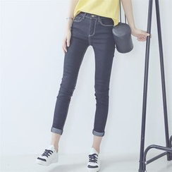 Bloombloom - Cropped Skinny Jeans