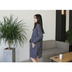 Envy Look - Open-Front Long Cardigan