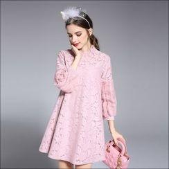 Seagrass - 长袖蕾丝裙衣