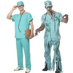 Cosgirl - Surgeon Party Costume Set