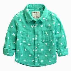 Kido - 小童星星印花衬衫