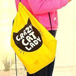 Evorest Bags - 印花抽繩衣物收納包