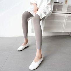 MARSHMALLOW - Plain Leggings